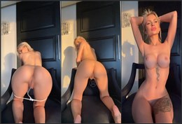 Layna Boo Strip Tease And Booty Shaking Video Leaked